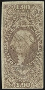 Sale Number 938, Lot Number 1933, Revenues$1.90 Foreign Exchange, Imperforate (R80a), $1.90 Foreign Exchange, Imperforate (R80a)