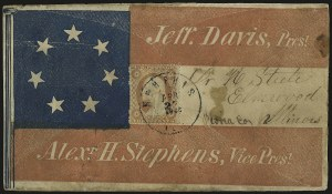 Sale Number 940, Lot Number 205, Independent State and C.S.A. Usage of U.S. StampsMemphis Ten. Apr. 27, 1861, Memphis Ten. Apr. 27, 1861