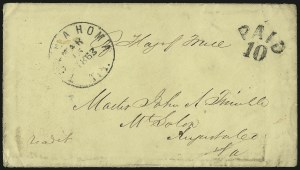 Sale Number 940, Lot Number 569, Flag-of-Truce and PrisonersTullahoma Ten. Mar. 15, 1863, Tullahoma Ten. Mar. 15, 1863