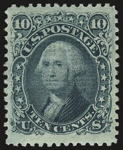 Sale Number 941, Lot Number 1045, 1868 Grilled Issue10c Green, E. Grill (89), 10c Green, E. Grill (89)
