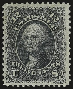 Sale Number 941, Lot Number 1046, 1868 Grilled Issue12c Black, E. Grill (90), 12c Black, E. Grill (90)