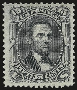 Sale Number 941, Lot Number 1047, 1868 Grilled Issue15c Black, E. Grill (91), 15c Black, E. Grill (91)