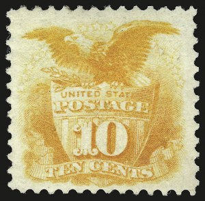 Sale Number 941, Lot Number 1069, 1869 Pictorial Issue10c Yellow (116), 10c Yellow (116)