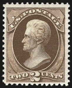 Sale Number 941, Lot Number 1090, 1870 National Bank Note Co. Issue2c Red Brown (146). Mint N.H, 2c Red Brown (146). Mint N.H