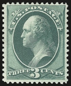 Sale Number 941, Lot Number 1091, 1870 National Bank Note Co. Issue3c Green (147), 3c Green (147)