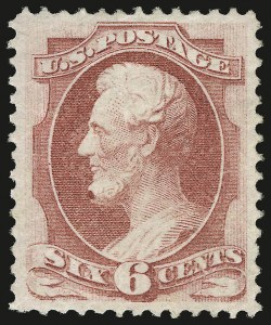 Sale Number 941, Lot Number 1092, 1870 National Bank Note Co. Issue6c Carmine (148), 6c Carmine (148)
