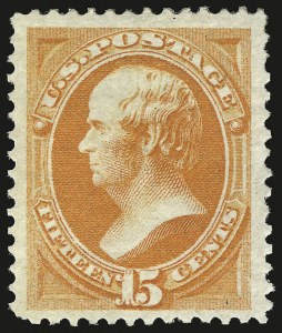 Sale Number 941, Lot Number 1095, 1870 National Bank Note Co. Issue15c Bright Orange (152), 15c Bright Orange (152)