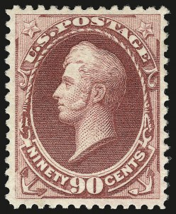Sale Number 941, Lot Number 1097, 1870 National Bank Note Co. Issue90c Carmine (155), 90c Carmine (155)