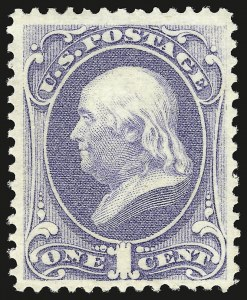 Sale Number 941, Lot Number 1098, 1873 Continental Bank Note Co. Issue1c Ultramarine (156), 1c Ultramarine (156)