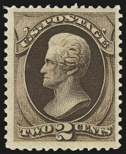 Sale Number 941, Lot Number 1099, 1873 Continental Bank Note Co. Issue2c Brown (157). Mint N.H, 2c Brown (157). Mint N.H
