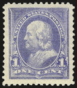 Sale Number 941, Lot Number 1163, 1894-98 Bureau Issues1c Ultramarine (246), 1c Ultramarine (246)