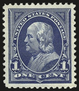 Sale Number 941, Lot Number 1180, 1894-98 Bureau Issues1c Blue (264), 1c Blue (264)