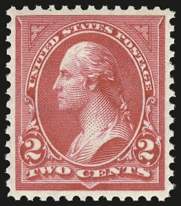 Sale Number 941, Lot Number 1181, 1894-98 Bureau Issues2c Carmine, Ty. II (266), 2c Carmine, Ty. II (266)