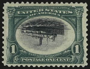 Sale Number 941, Lot Number 1205, Pan-American Issue1c Pan-American, Center Inverted (294a), 1c Pan-American, Center Inverted (294a)