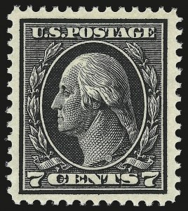 Sale Number 941, Lot Number 1275, 1912-23 Issues (Scott 405 to 461)7c Black (407), 7c Black (407)