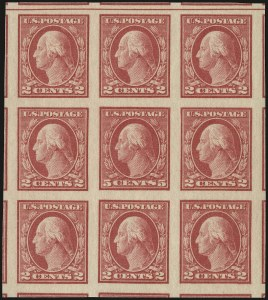Sale Number 941, Lot Number 1326, 1912-23 Issues (Scott 485 to 519)5c Carmine, Imperforate, Error (485), 5c Carmine, Imperforate, Error (485)