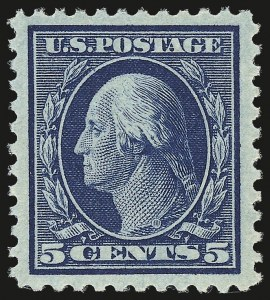 Sale Number 941, Lot Number 1328, 1912-23 Issues (Scott 485 to 519)5c Blue (504), 5c Blue (504)