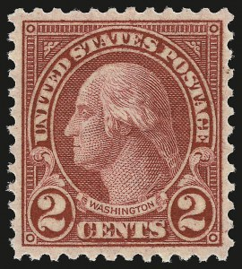 Sale Number 941, Lot Number 1351, 1912-23 Issues (Scott 523 to 662)2c Carmine, Rotary, Perf 11 (595), 2c Carmine, Rotary, Perf 11 (595)