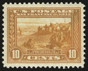Sale Number 946, Lot Number 1005, 1913-15 Panama-Pacific Issue (Scott 397-404)10c Orange, Panama-Pacific (400A), 10c Orange, Panama-Pacific (400A)