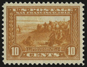 Sale Number 946, Lot Number 1006, 1913-15 Panama-Pacific Issue (Scott 397-404)10c Orange, Panama-Pacific (400A), 10c Orange, Panama-Pacific (400A)