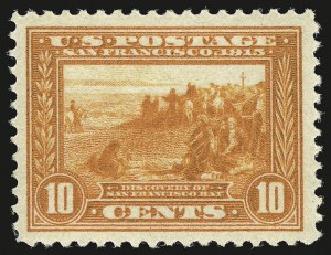 Sale Number 946, Lot Number 1007, 1913-15 Panama-Pacific Issue (Scott 397-404)10c Orange, Panama-Pacific (400A), 10c Orange, Panama-Pacific (400A)