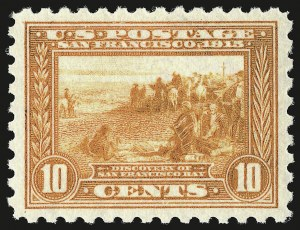 Sale Number 946, Lot Number 1014, 1913-15 Panama-Pacific Issue (Scott 397-404)10c Panama-Pacific, Perf 10 (404), 10c Panama-Pacific, Perf 10 (404)
