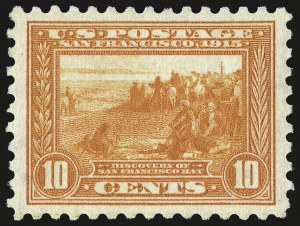 Sale Number 946, Lot Number 1015, 1913-15 Panama-Pacific Issue (Scott 397-404)10c Panama-Pacific, Perf 10 (404), 10c Panama-Pacific, Perf 10 (404)