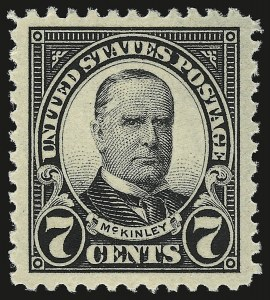 Sale Number 946, Lot Number 1184, 1922-29 Issues (Scott 551-621)7c Black (559), 7c Black (559)