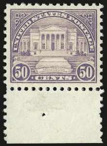 Sale Number 946, Lot Number 1192, 1922-29 Issues (Scott 551-621)50c Lilac (570), 50c Lilac (570)