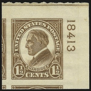 Sale Number 946, Lot Number 1245, 1925 and Later Issues (Scott 622-later)1-1/2c Yellow Brown, Rotary Imperforate (631), 1-1/2c Yellow Brown, Rotary Imperforate (631)