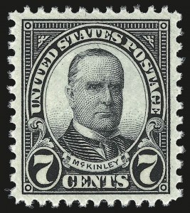 Sale Number 946, Lot Number 1249, 1925 and Later Issues (Scott 622-later)7c Black (639), 7c Black (639)
