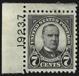 Sale Number 946, Lot Number 1251, 1925 and Later Issues (Scott 622-later)7c Black (639), 7c Black (639)