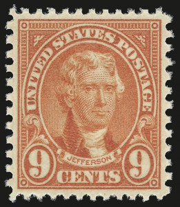 Sale Number 946, Lot Number 1253, 1925 and Later Issues (Scott 622-later)9c Rose (641), 9c Rose (641)