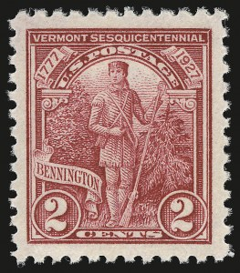 Sale Number 946, Lot Number 1255, 1925 and Later Issues (Scott 622-later)2c Vermont (643), 2c Vermont (643)