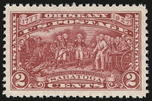 Sale Number 946, Lot Number 1256, 1925 and Later Issues (Scott 622-later)2c Burgoyne (644), 2c Burgoyne (644)