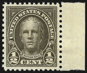 Sale Number 946, Lot Number 1263, 1925 and Later Issues (Scott 622-later)-1/2c Olive Brown (653), -1/2c Olive Brown (653)