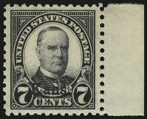 Sale Number 946, Lot Number 1269, 1925 and Later Issues (Scott 622-later)7c Kans. Ovpt. (665), 7c Kans. Ovpt. (665)