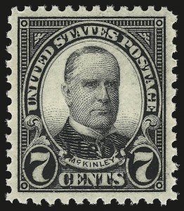 Sale Number 946, Lot Number 1282, 1925 and Later Issues (Scott 622-later)7c Nebr. Ovpt. (676), 7c Nebr. Ovpt. (676)