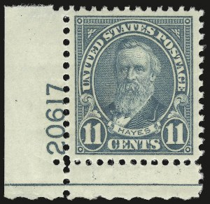 Sale Number 946, Lot Number 1289, 1925 and Later Issues (Scott 622-later)11c Light Blue (692), 11c Light Blue (692)