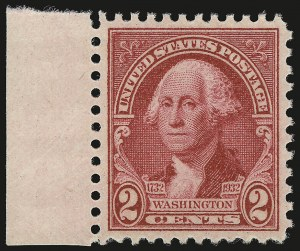 Sale Number 946, Lot Number 1295, 1925 and Later Issues (Scott 622-later)2c Carmine Rose (707), 2c Carmine Rose (707)
