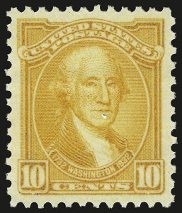 Sale Number 946, Lot Number 1298, 1925 and Later Issues (Scott 622-later)10c Orange Yellow (715), 10c Orange Yellow (715)
