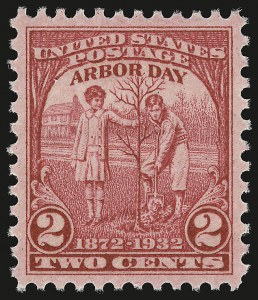 Sale Number 946, Lot Number 1300, 1925 and Later Issues (Scott 622-later)2c Arbor Day (717), 2c Arbor Day (717)