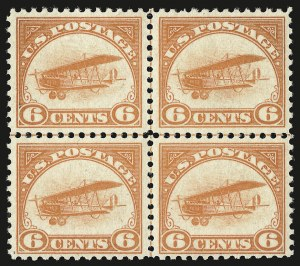 Sale Number 946, Lot Number 1306, Air Post6c Orange, 1918 Air Post (C1), 6c Orange, 1918 Air Post (C1)
