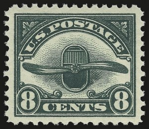 Sale Number 946, Lot Number 1311, Air Post8c Dark Green, 1923 Air Post (C4), 8c Dark Green, 1923 Air Post (C4)