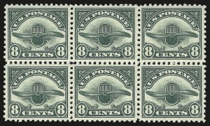 Sale Number 946, Lot Number 1313, Air Post8c Dark Green, 1923 Air Post (C4), 8c Dark Green, 1923 Air Post (C4)