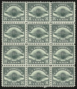 Sale Number 946, Lot Number 1314, Air Post8c Dark Green, 1923 Air Post (C4), 8c Dark Green, 1923 Air Post (C4)
