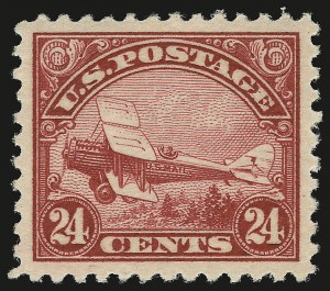 Sale Number 946, Lot Number 1322, Air Post24c Carmine, 1923 Air Post (C6), 24c Carmine, 1923 Air Post (C6)
