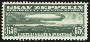 Sale Number 946, Lot Number 1339, Air Post65c Graf Zeppelin (C13), 65c Graf Zeppelin (C13)