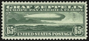 Sale Number 946, Lot Number 1341, Air Post65c Graf Zeppelin (C13), 65c Graf Zeppelin (C13)
