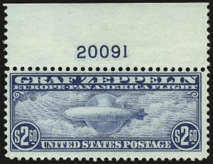Sale Number 946, Lot Number 1350, Air Post$2.60 Graf Zeppelin (C15), $2.60 Graf Zeppelin (C15)
